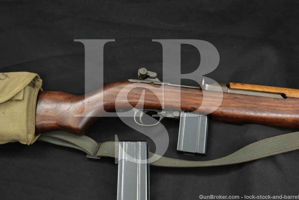 Inland Division M1 Carbine .30 Semi Automatic Rifle 2 Mags Pouch Sling C&R