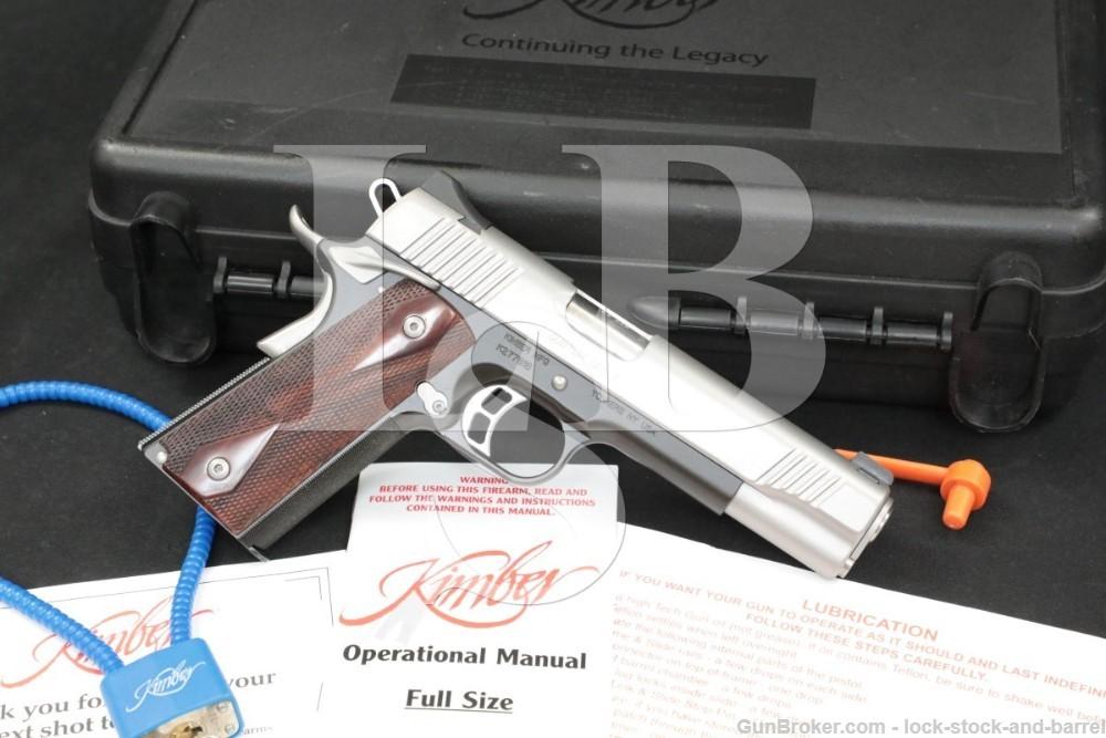 Kimber Custom Shop Model Custom CDP II 2 .45 ACP 5″ 1911 Semi-Auto Pistol