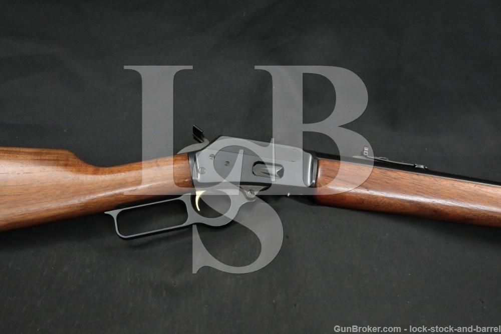 Marlin Firearms Co Model 1894 JM 44 Remington Mag 20 1/4″ Lever Rifle 1981