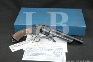 Pietta Lemat Army Repro .44 Cal/20 Ga Black Powder Percussion Revolver 1997