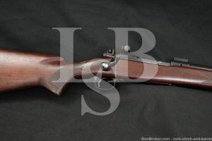 Pre-64 Winchester Model 70 Varmint G7012CN .243 Bolt Action Rifle, 1959 C&R