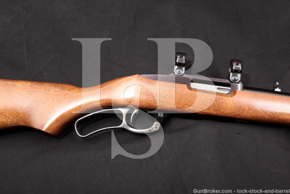 """Ruger Model Ninety-Six 96 .44 Magnum 18.5"""" Box Mag Lever Action Rifle 1999"""