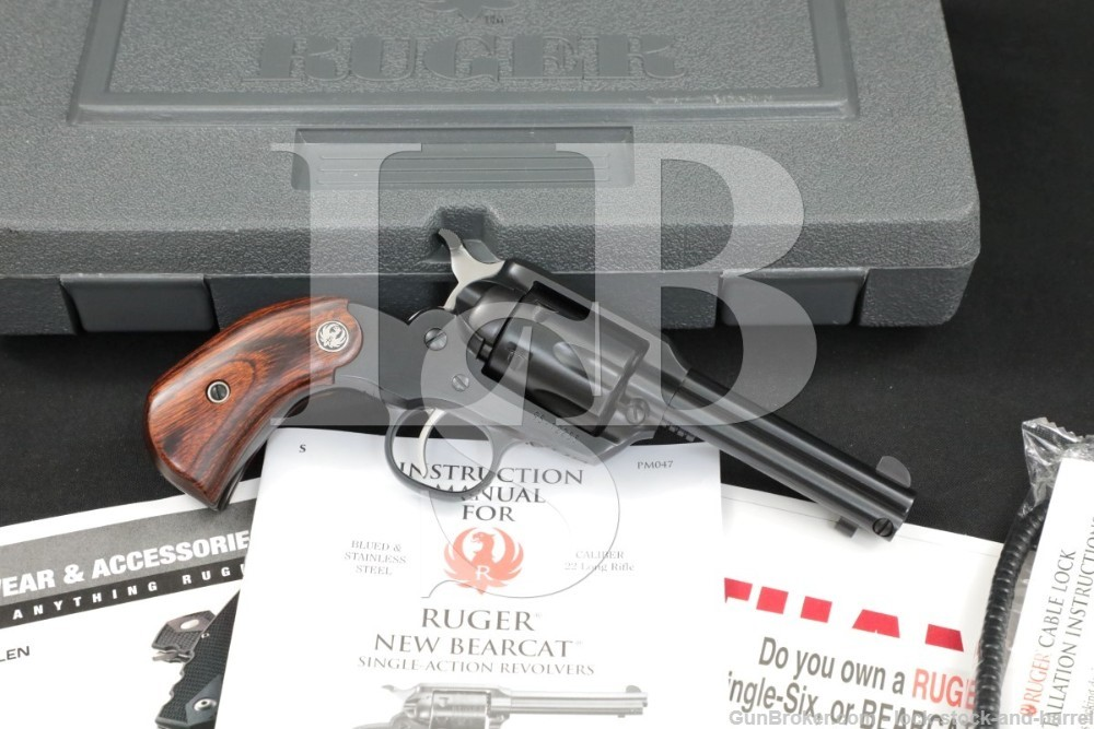 Ruger New Bearcat Lipsey's Shopkeeper #00918 #SBCBH-3 .22 LR Revolver, 2017