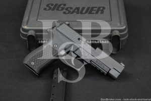 Sig Sauer Model P226 P-226 MK-25-TB, 9mm Para Semi-Automatic Pistol, 2013