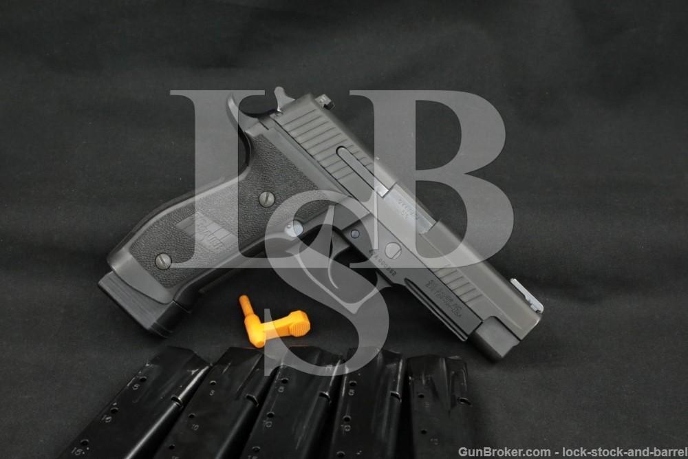 Sig Sauer Model P226 TACOPS 9mm SA/DA Semi-Automatic Pistol 2004-2021