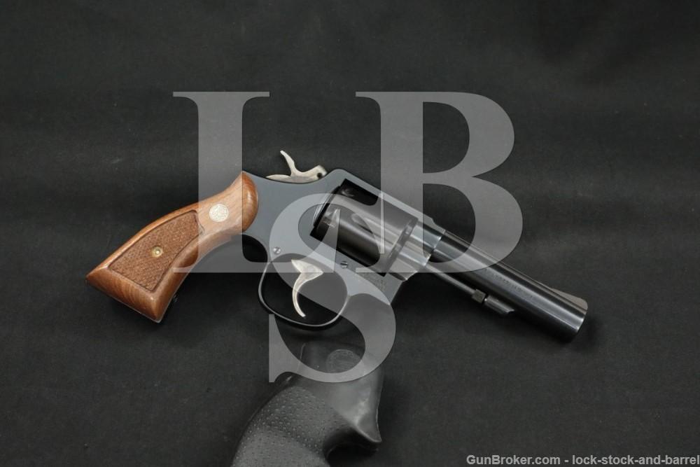 """Smith & Wesson S&W Model 13-3 .357 Magnum M&P Heavy Barrel 4"""" Revolver 1988"""