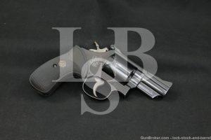 "Smith & Wesson S&W Model 19-2 Combat Magnum .357 2.5"" Revolver MFD 1966 C&R"