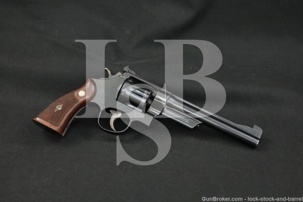 "Smith & Wesson S&W Model 1950 .38/44 Outdoorsman .38 Spl 6.5"" Revolver C&R"