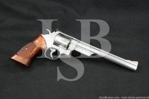 """Smith & Wesson S&W Model 629 No Dash .44 Magnum 8 3/8"""" Revolver 1981-1982"""