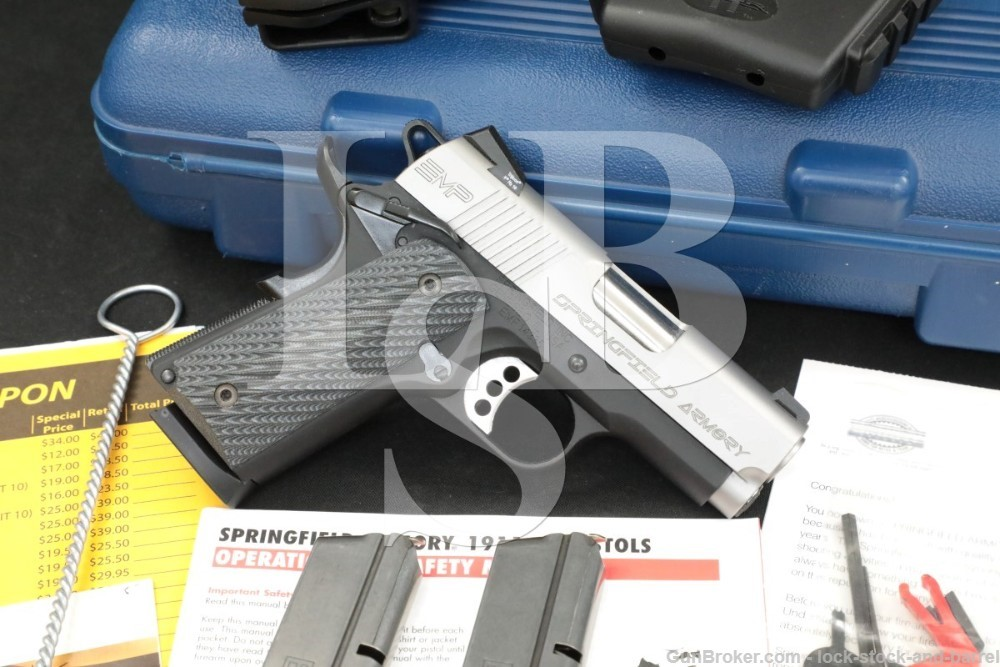 Springfield Armory Model EMP PI9120LP 9mm 3″ 1911 Semi-Auto Pistol