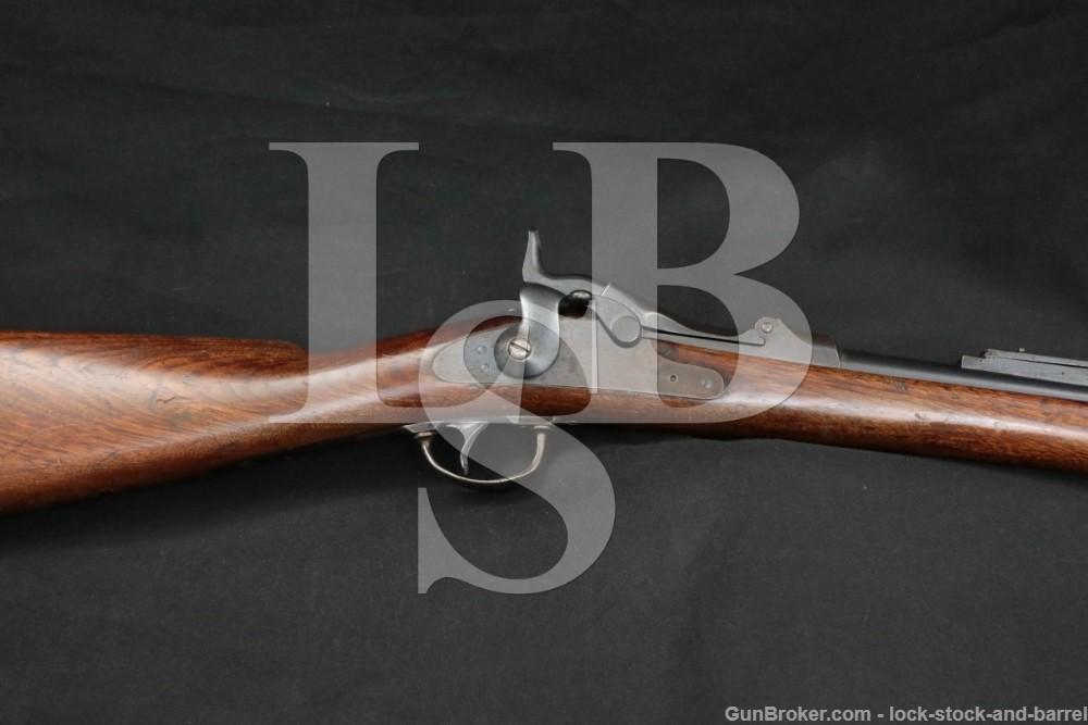 Springfield Trapdoor Carbine 1884 45-70 Govt Single Shot Rifle 1886 Antique