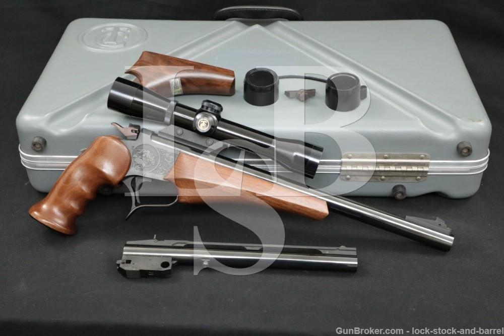Thompson Center Arms TC Contender .35 Rem. Extra Barrel Single Shot Pistol