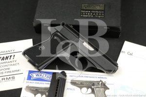 Walther Manurhin Model PPK/S PPKS .22 LR Semi-Automatic Pistol MFD 1960 C&R