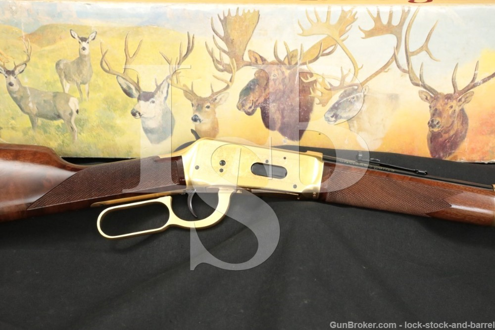 Winchester Antlered Game Commemorative 1894 94 .30-30 Lever Rifle, 1978 C&R