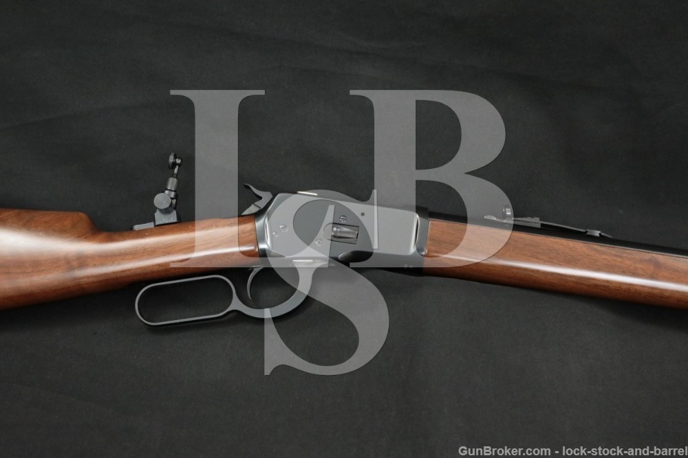 """Winchester Miroku Model 1892 .44-40 Win. 24"""" Blue Lever Action Rifle, 1998"""
