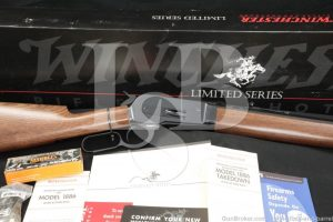 """Winchester Model 1886 Takedown Limited Series .45-70 Govt. 26"""" Lever Rifle"""
