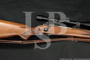 "Winchester Model 70 .225 Win. 22"" Bolt Action Rifle & Lyman Scope, 1965 C&R"