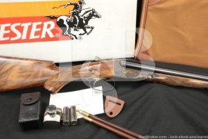 Winchester Parker Repro DHE Grade 20 GA SXS Side by Side Shotgun, 1984-1989