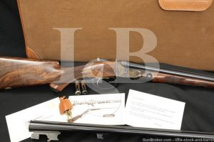 Winchester Parker Repro DHE Grade 28 GA SXS Side by Side Shotgun, 1984-1989