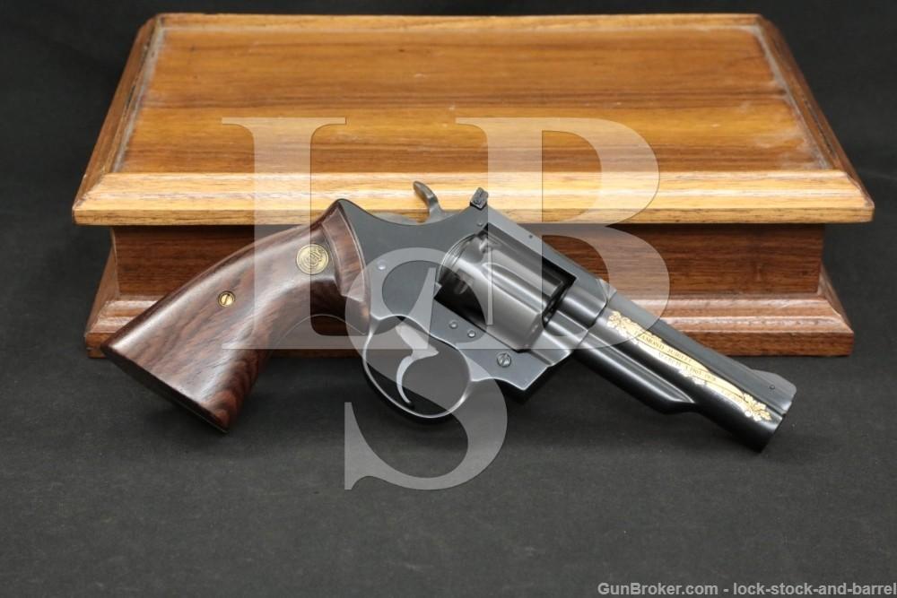 "1 of 300 Colt Model Trooper MKIII Immigration Services .357 Mag 4"" Revolver"