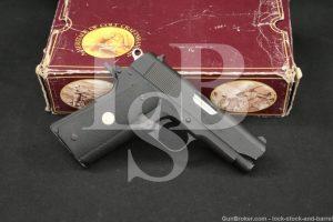 "1 of 500 Colt Model Commanding Officers Lightweight 9mm 3.5"" Pistol"