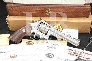 """124 of 250 Engraved Dan Wesson Monson 44V 44-V .44 Mag 6"""" Revolver"""