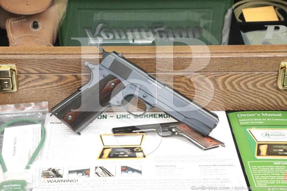 529 of 1,000 Remington UMC Commemorative 1911 .45 ACP Pistol 2014