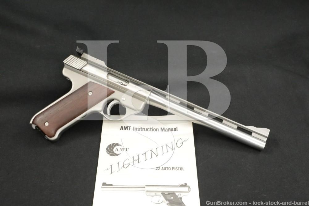 """AMT Covina Model Baby Auto Mag BAM .22 LR 8.5"""" Semi-Auto Pistol 1985"""