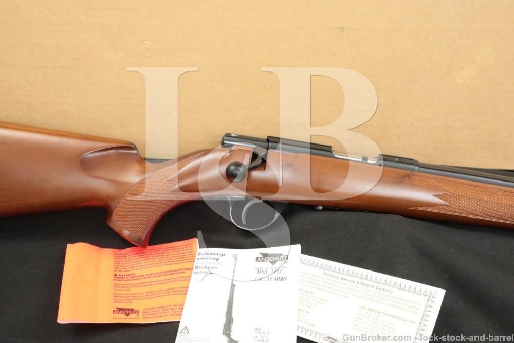Anschutz Savage Model 1717D HB .17 HMR Bolt-Action Semi-Auto Rifle MFD 2003
