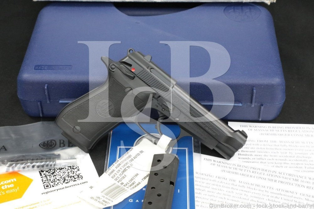 Beretta 85FS Cheetah 9mm Short 380 ACP DA/SA Semi-Automatic Pistol, 2015
