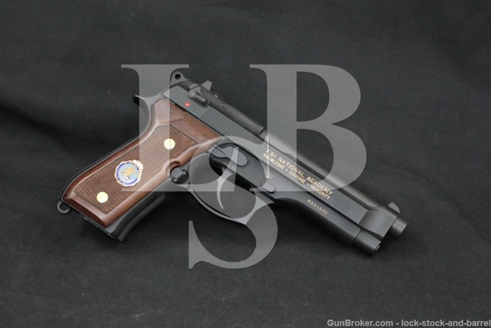 Beretta 92FS 92-FS FBI National Academy 9mm SA/DA Semi-Auto Pistol MFD 1994
