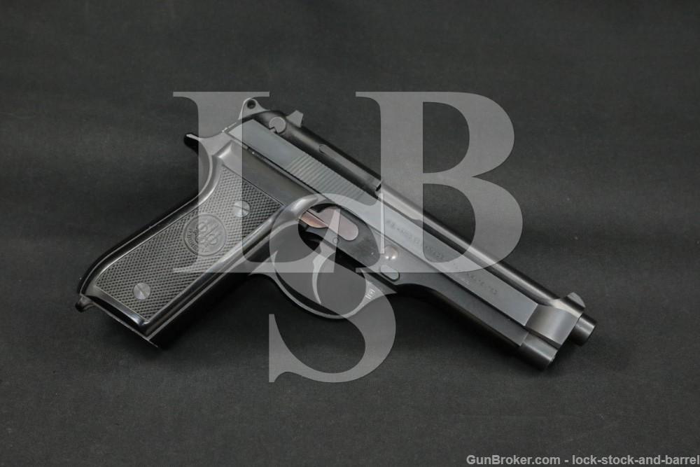 Beretta Italian 92S 92-S 9mm Parabellum SA/DA Semi-Automatic Pistol, 1982