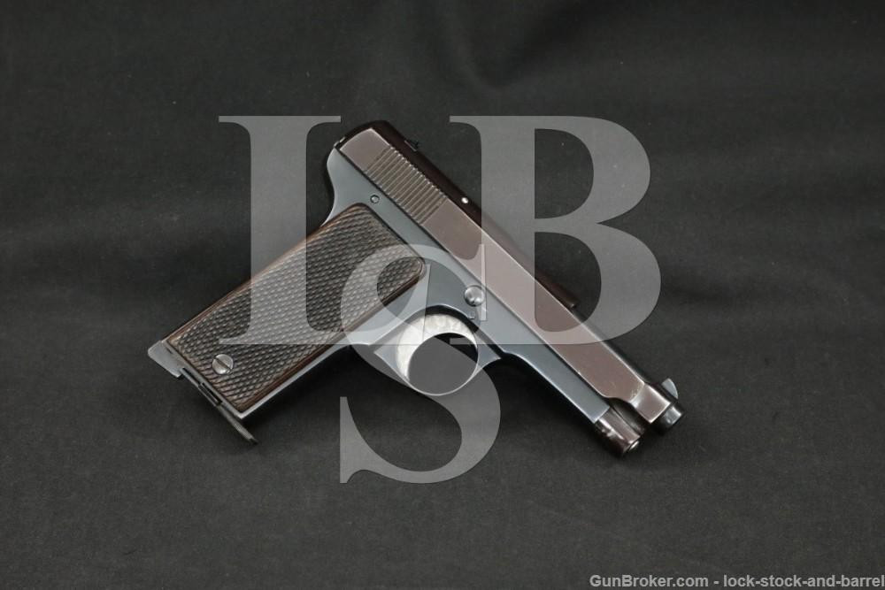 Beretta M1915 M-1915 9mm Glisenti Semi-Auto Pistol 1915-1918 C&R