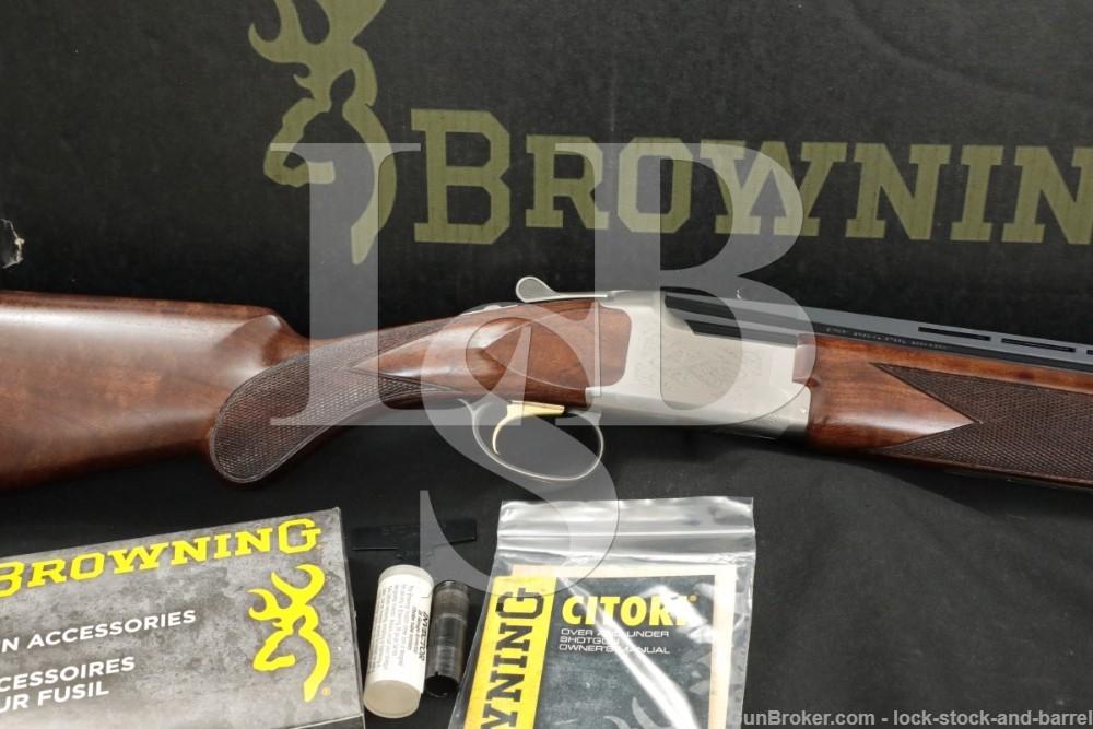 "Browning Model Citori White Lightning 28 GA 26"" Over Under Shotgun 2015"