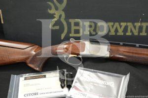 "Browning Model Ultra XS Skeet Citori 20 GA 30"" Ported Over Under Shotgun"