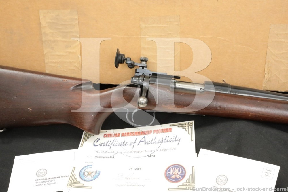 "CMP U.S. Property Remington Model 40-X Rangemaster 22 LR 28"" Rifle 1959 C&R"