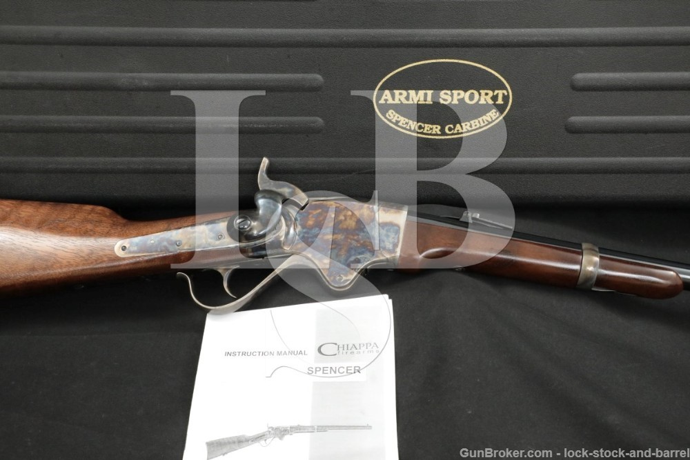 Chiappa Firearms Model 1860 Spencer Carbine .45 Colt Lever Rifle, MFD 2015