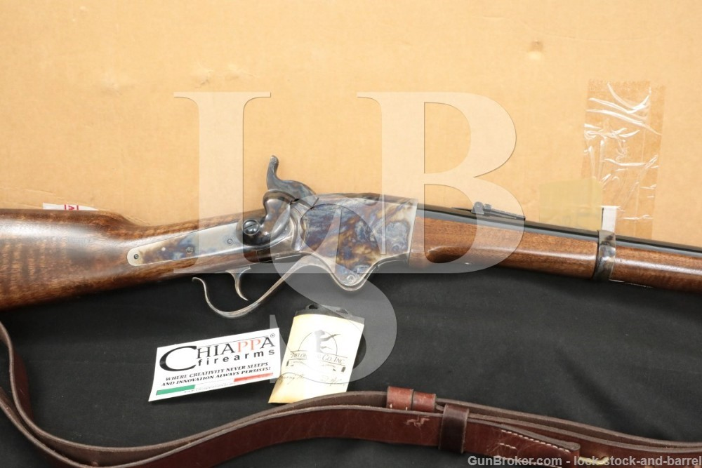 Chiappa Model 1860 Spencer .44-40 Winchester Lever Action Rifle, MFD 2014
