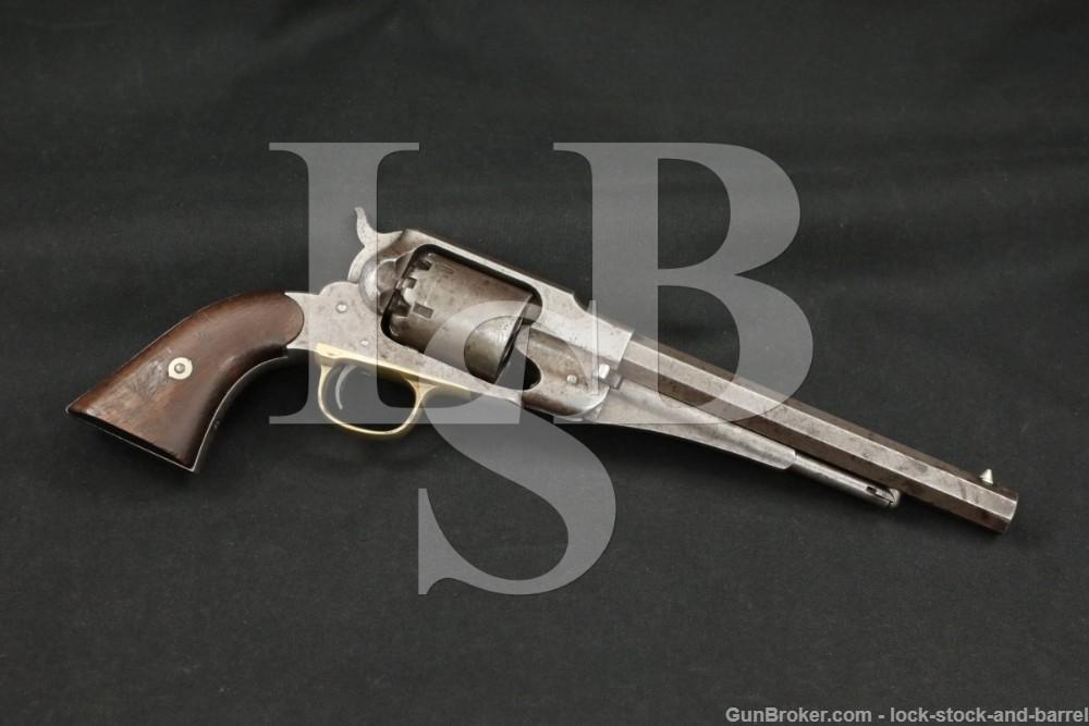 Civil War Remington 1858 New Model Army .44 Cal Revolver MFD 1864 Antique