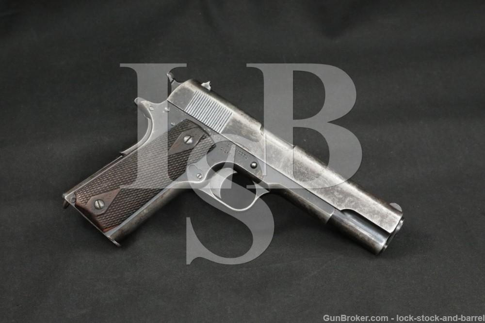 Colt Commercial Government Model 1911 .45 ACP Semi-Auto Pistol, 1915 C&R