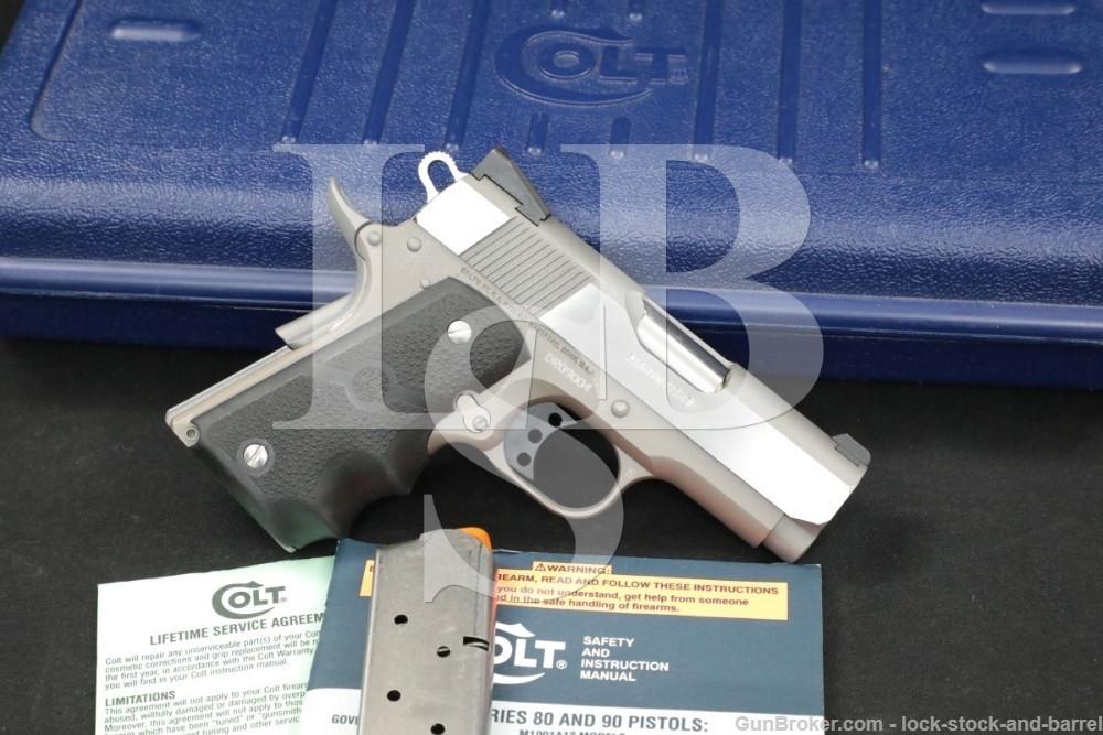 "Colt Defender Lightweight Series '90 .45 ACP 3"" 1911 Pistol 1998"