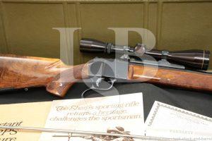 Colt Deluxe Sharps Sporting Falling Block .30-06 Sn# CS56 Rifle, 1970 C&R