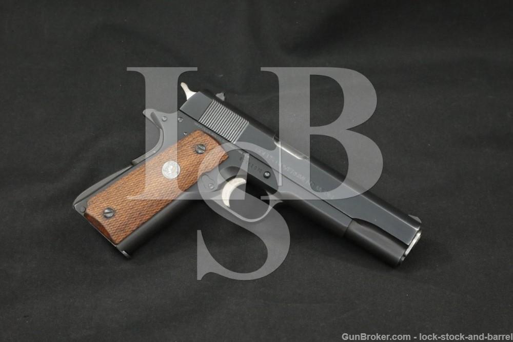 """Colt MK IV Series '70 Government Model .45 ACP 5"""" Semi-Auto Pistol 1978"""