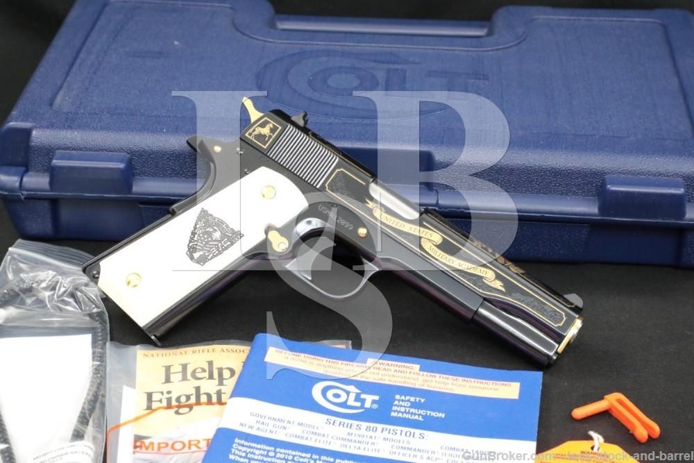 "Colt West Point USMA Class of 2012 Model 1911A1 .45 ACP 5"" 1911 Pistol"