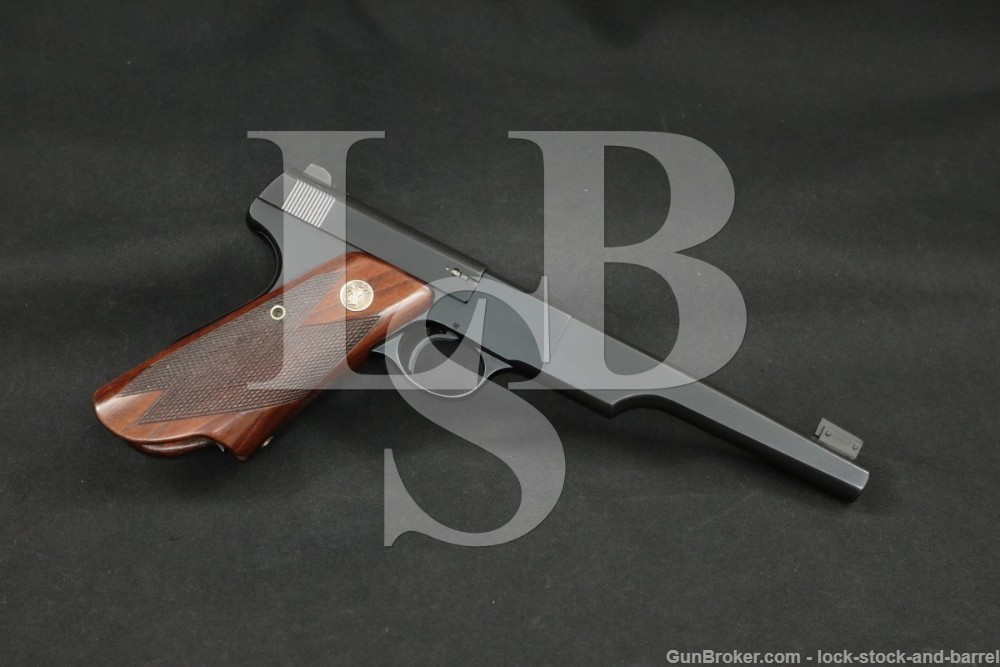 Colt Woodsman Match Target 1st Series Bullseye .22 LR 6 5/8?, MFD 1938 C&R