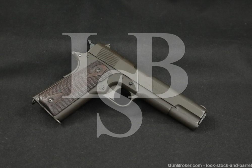 Colt/Springfield Model of 1911 U.S. Army .45 ACP Semi-Auto Pistol, 1918 C&R