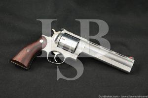 Custom Bowen Ruger Redhawk .500 Linebaugh Magnum Stainless Revolver