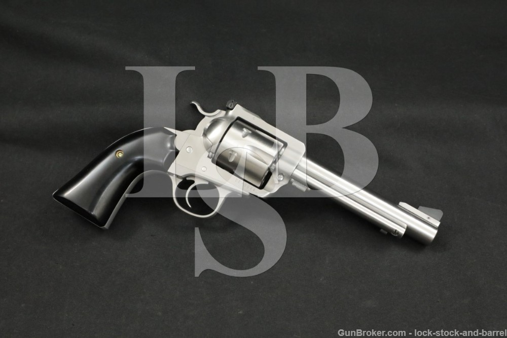 Custom Ruger New Model Super Blackhawk 44 Rem Mag Stainless Revolver 1999