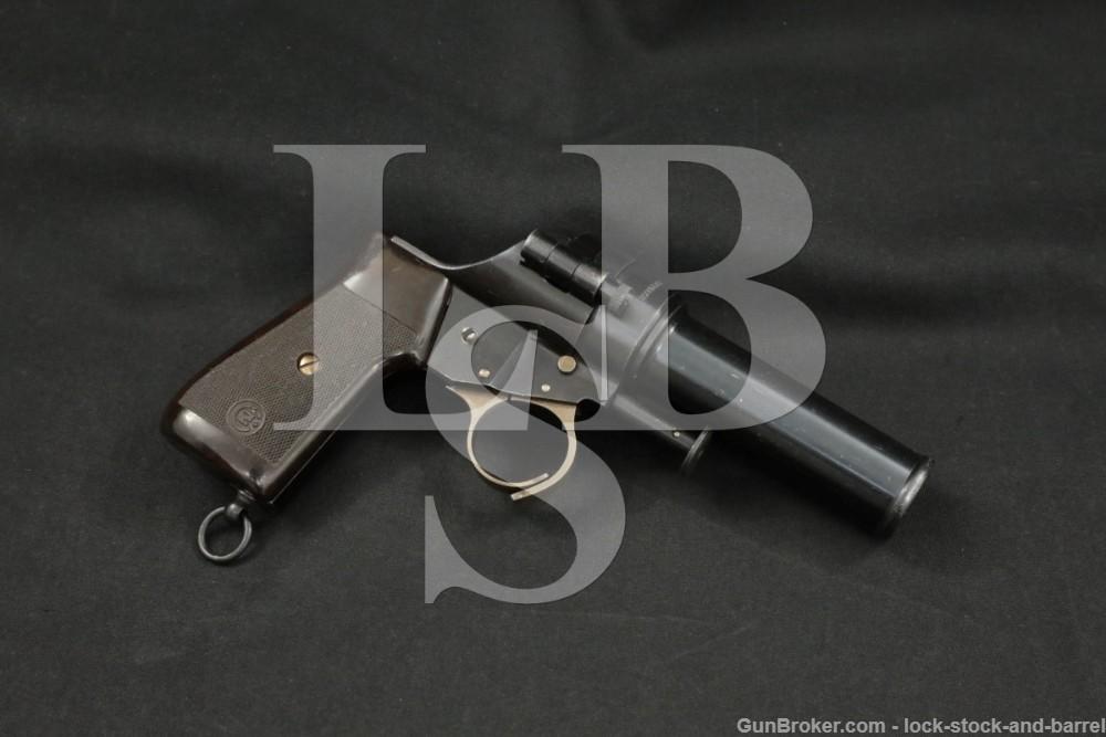 Czech Ceska Zbrojovka CZ VZ30 VZ-30 Pre-WWII Signal Gun Flare Pistol, 1939