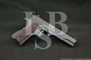 DGFM-FMAP Argentine 1911 Sistema Colt Mod 1927 .45 ACP Pistol, MFD 1958 C&R